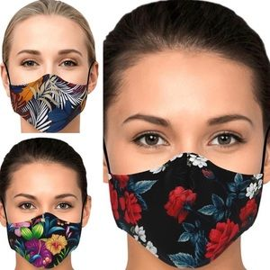 Ladies Printed Face Masks